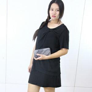 EOOE中大 休閒素面褲裙