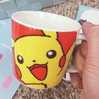Pokemon:精靈寶可夢到PGS7 (現貨+預購) 日本卡通系列商品 - 日本 皮卡丘 紅底 馬克杯 神奇寶貝 精靈寶可夢 Pokman 造型杯