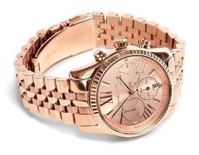 美國Outlet正品代購 MichaelKors MK  男女中性玫瑰金鋼帶錶 手錶 MK5569 3