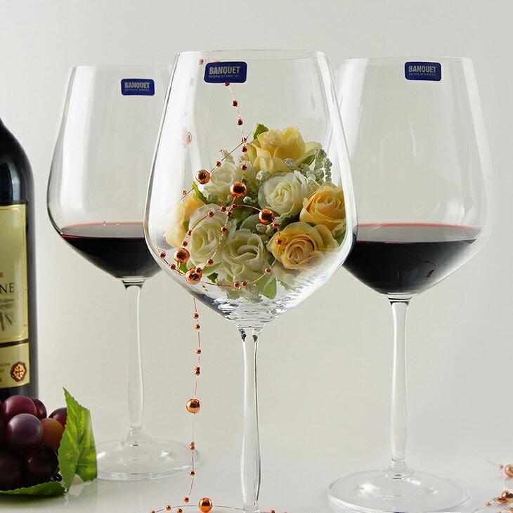【曉風】Banquet Crystal 捷克水晶白葡萄酒杯*白酒杯 715ml (6入/盒)★美食家典藏版 0