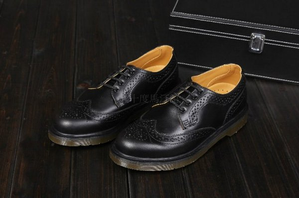 【九十度馬丁管】【兩日到貨】【免運】【4孔黑色】【牛津鞋】Dr. Martens馬丁馬汀靴子