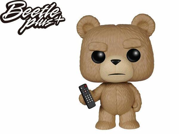 BEETLE  FUNKO POP TED 2 熊麻吉 泰德 憤怒版 雷雷夥伴 Q版 公仔 玩具 電影 模型 泰迪熊 FUN-14 1