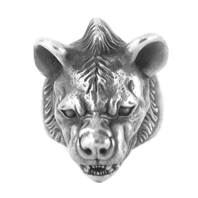 【海外訂購】【MAD CULT】憤怒鬣狗純銀戒指(MAD-R-29) 2