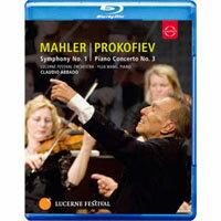 馬勒一號「巨人」~王羽佳與阿巴多在琉森音樂節 Abbado Conducts Mahler No. 1 & Prokofiev Piano Concerto No. 3 (藍光Blu-ray) 【EuroArts】 - 限時優惠好康折扣