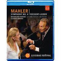 馬勒:第四號交響曲&呂克特之歌~阿巴多指揮琉森節慶管弦樂團 Lucerne Festival 2009 - Abbado conducts Mahler No. 4 Ruckert Lieder (藍光Blu-ray) 【EuroArts】 - 限時優惠好康折扣