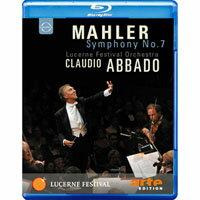 馬勒:第七號交響曲  阿巴多指揮琉森節慶管弦樂團 Mahler: Symphony No.7 (藍光Blu-ray) 【EuroArts】 - 限時優惠好康折扣
