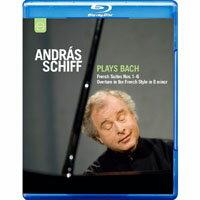 席夫的巴哈 法國組曲 András Schiff plays Bach (藍光Blu-ray) 【EuroArts】 0