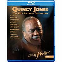 昆西.瓊斯 - 75歲生日快樂 V.A.: Quincy Jones - 75th B-day Celebration(藍光Blu-ray) 【Evosound】