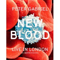 彼得蓋布瑞爾:新血 Peter Gabriel: New Blood – Live In London In 3 Dimensions (3D藍光Blu-ray+藍光Blu-ray+DVD) 【Evosound】 0