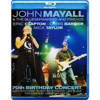 約翰梅爾:70歲慶生音樂會 John Mayall & Friends: 70th Birthday Concert (藍光Blu-ray) 【Evosound】 0