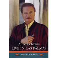 艾佛瑞多.克勞斯:拉斯帕爾馬斯現場演唱會 Alfredo Kraus: Live in Las Palmas (DVD)【Dynamic】 0