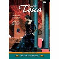 普契尼:歌劇《托斯卡》 Giacomo Puccini: Tosca (DVD)【Dynamic】 0