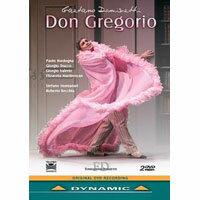 董尼才第:歌劇《唐.格雷戈里奧》 Gaetano Donizetti: Don Gregorio (2DVD)【Dynamic】 0
