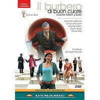 索勒:歌劇《仁慈的伯貝羅》 Vicente Martin y Soler: Il Burbero di buon cuore (2DVD)【Dynamic】 0