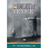 布瑞頓:歌劇《魂斷威尼斯》Benjamin Britten: Death In Venice (DVD)【Dynamic】 0