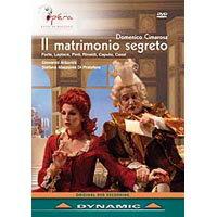 奇瑪羅薩:歌劇《秘密婚禮》 Domenico Cimarosa: Il matrimonio segreto (DVD)【Dynamic】 0