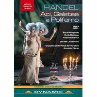 韓德爾:清唱劇《阿奇,加拉蒂亞與波里菲莫》 Georg Freideric Handel: Aci, Galatea e Poliformo (DVD)【Dynamic】 0