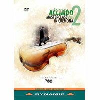 阿卡多:克雷蒙納大師班第2集 Salvatore Accardo Masterclass in Cremona Vol.2 (DVD)【Dynamic】 - 限時優惠好康折扣
