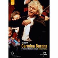 柏林除夕音樂會 卡爾.奧夫:布蘭詩歌 Sir Simon Rattle conducts Carmina Burana (DVD) 【EuroArts】
