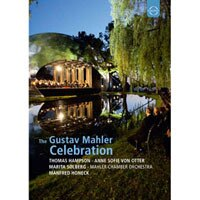 馬勒紀念音樂會 慶祝馬勒150歲冥誕 The Gustav Mahler Celebration (DVD) 【EuroArts】