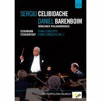 黃金相遇 巴倫波因&傑利畢達克 Sergiu Celibidache conducts the Münchner Philharmoniker - Schumann & Tchaikovsky - Recorded Excellence series (DVD) 【EuroArts】 - 限時優惠好康折扣