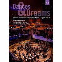 黃金之夜~柏林愛樂2011年除夕音樂會 Dances & Dreams - The Berliner Philharmoniker and Simon Rattle (DVD) 【EuroArts】
