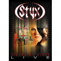 冥河合唱團:曼菲斯演現場實錄 STYX: Pieces Of 8/Grand Illusion - Live (DVD) 【Evosound】 0