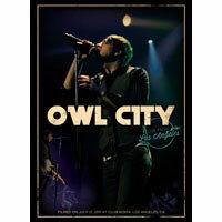 貓頭鷹城市:洛杉磯演唱會 Owl City: Live From Los Angeles (DVD) 【Evosound】 0