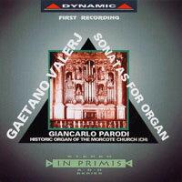 瓦勒吉:管風琴奏鳴曲 Valerj: 12 organ Sonatas (CD)【Dynamic】 - 限時優惠好康折扣