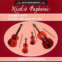 帕格尼尼:吉他四重奏3 Nicolo Paganini: Complete Quartets (Vol.3) (CD)【Dynamic】 0