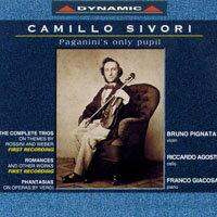 西佛里:小提琴作品 Camillo Sivori: Works for Violin and Piano (CD)【Dynamic】 0