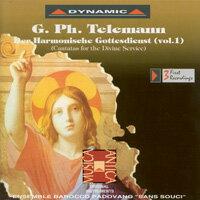 泰雷曼:和諧的禮拜式 第一集 G. Ph. Telemann: Der Harmonischer Gottesdienst Vol. 1 (CD)【Dynamic】 0