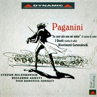 """你的心裡沒有我 帕格尼尼:美妙的小提琴與大提琴三重奏 Nicolo Paganini: """"In cuor più non mi sento"""" and other works (CD)【Dynamic】 - 限時優惠好康折扣"""