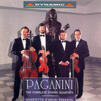 魔鬼的試金石 – 帕格尼尼:弦樂四重奏 Paganini: String Quartets (CD)【Dynamic】 0
