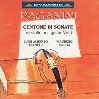 帕格尼尼:小提琴與吉他奏鳴曲5 Nicolo Paganini: Centone di Sonate for violin and guitar (Vol.1) (CD)【Dynamic】 - 限時優惠好康折扣