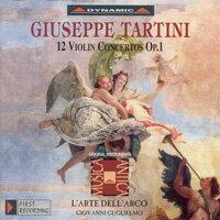 流浪小提琴家塔替尼:小提琴協奏曲全集1 Tartini: The Violin Concertos Volume 1 (3CD)【Dynamic】 0