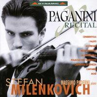帕格尼尼:魔鬼炫技曲 Stefan Milenkovich: Paganini Recital (CD)【Dynamic】 0