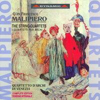 馬里沛羅:弦樂四重奏,作品1~8號 Malipiero: String Quartets Nos. 1-8 (complete) (CD)【Dynamic】 0