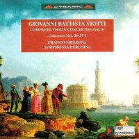 大師的禮讚 – 維歐提小提琴協奏曲全集5 G. Battista Viotti: Complete violin concertos (Vol.5) (CD)【Dynamic】 - 限時優惠好康折扣