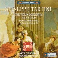 流浪小提琴家塔替尼:小提琴協奏曲全集4 Tartini: The Violin Concertos Volume 4 (CD)【Dynamic】 - 限時優惠好康折扣