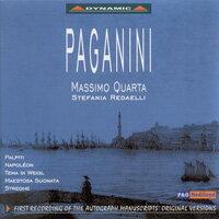 名琴科諾男爵 - 帕格尼尼:拿破崙奏鳴曲、威格主題變奏曲 Paganini: I Palpiti, Op. 13 (CD)【Dynamic】 0