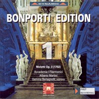 邦波爾第作品集 第一集:經文歌曲集 Bonporti Edition, Vol. 1 - Motets for Solo Voice (CD)【Dynamic】 0