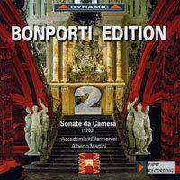 邦波爾第作品集 第二集:室內奏鳴曲 Bonporti Edition, Vol. 2 - Chamber Sonatas (CD)【Dynamic】 0