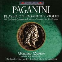 帕格尼尼:寡婦加農砲3 Paganini: Violin Concertos (Vol. 3) (CD)【Dynamic】 0