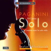帕格尼尼:小提琴獨奏作品全集、24首隨想曲 Paganini: Complete Works for Solo Violin (2CD)【Dynamic】 - 限時優惠好康折扣