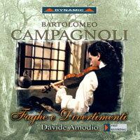 康帕諾利:賦格與嬉遊曲 Campagnoli: Fughe e Divertimenti (2CD)【Dynamic】 - 限時優惠好康折扣