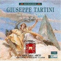 流浪小提琴家塔替尼:小提琴協奏曲全集13 Tartini: The Violin Concertos Volume 13 (2CD)【Dynamic】 - 限時優惠好康折扣