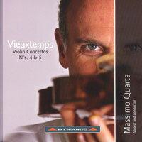 魏歐當:第四、五號小提琴協奏曲 Vieuxtemps: Violin Concertos Nos. 4 & 5 (CD)【Dynamic】 0