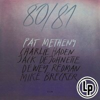 派特.麥席尼 Pat Metheny: 80/81 (2Vinyl LP) 【ECM】 0