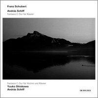 舒伯特:C小調幻想曲 鋼琴:席夫/小提琴:塩川悠子 Franz Schubert / András Schiff: C major Fantasies (CD) 【ECM】